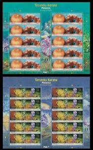 SJ-Malaysia-Living-Corals-2013-Underwater-Life-Reef-Marine-sheetlet-MNH