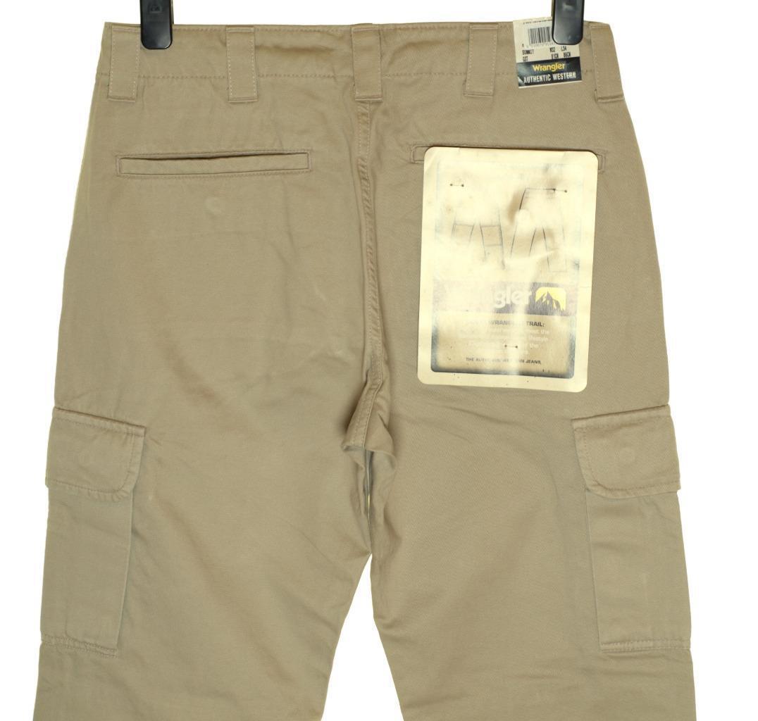 Neu Herren Wrangler Gipfel Cargo Combat Jeans Jeans Jeans Bequeme Passform W32 L34 Stein  | Starke Hitze- und Hitzebeständigkeit  41b748