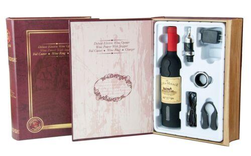 El Mejor Sacacorchos Recargable WINEMASTER para Botella de Vino 600158B