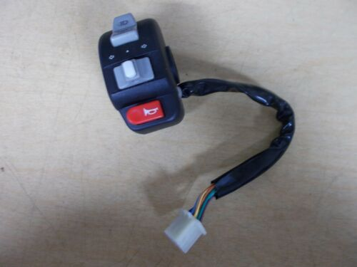 """NEW Scooter Moped Left LH Control Switch 3//4/"""" Light Signal Horn"""