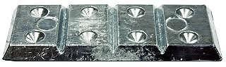 New B /& S Anodes Hull Zinc Plate 4 Part Bsm Bsm4Part