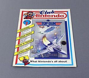 Club-Nintendo-Heft-Magazin-Erst-Ausgabe-No-1-1989-MEGA-RAR
