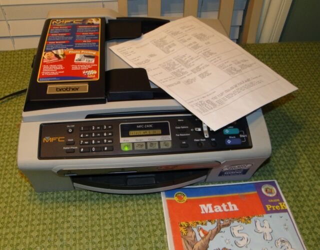 MFC-240C PRINTER DESCARGAR CONTROLADOR