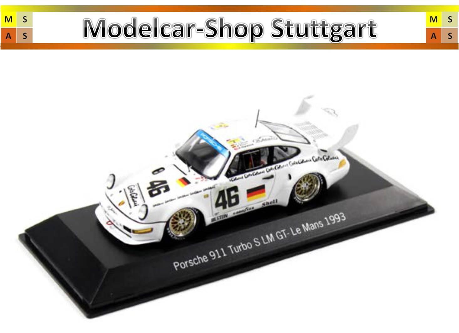 PORSCHE 911 TURBO S #46 LE MANS GT 1993-Spark 1:43 - map02020417-nuovo di fabbrica