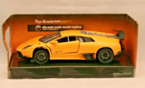 + + Lamborghini Murciélago Lp670-4 Sv + + Jaune + + Cast-modèle + + M1: 36+ + Neuf Et Neuf Dans Sa Boîte.--modell++ M1:36++neu Und Ovp. Fr-fr Afficher Le Titre D'origine Handicap Structurel