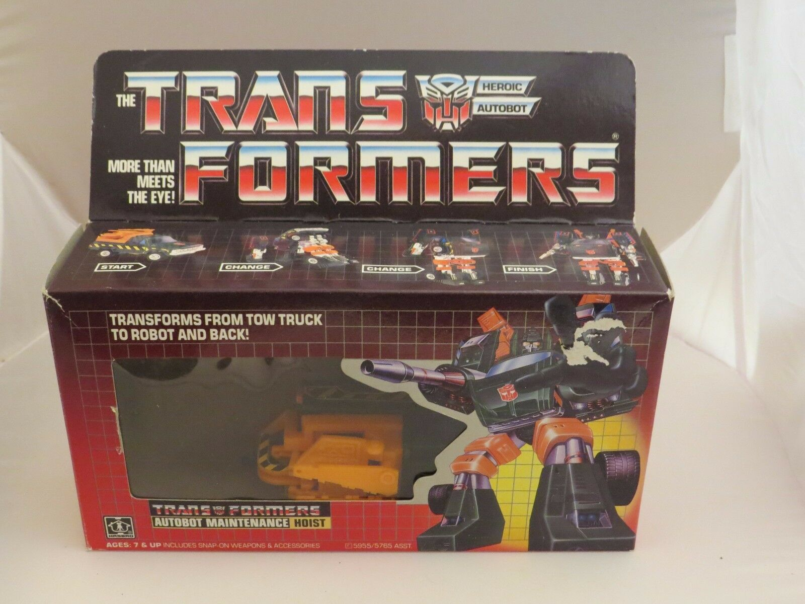 Transformers G1 Hoist, Complete with box.