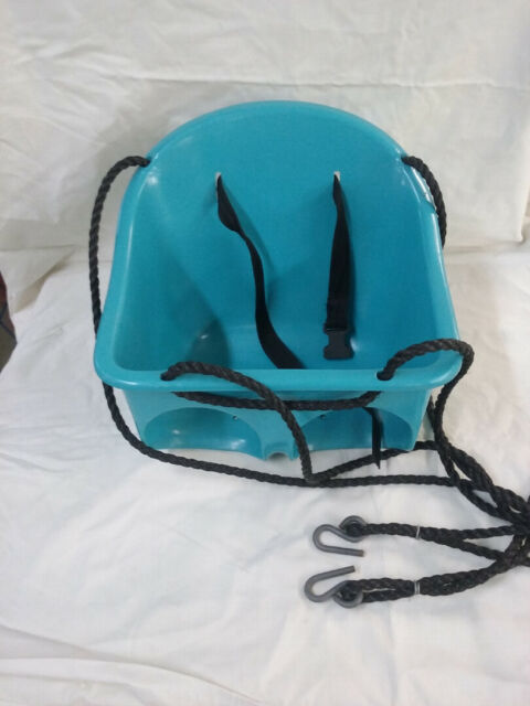 Swing-N-Slide secure Toddler Plastic bucket Swing Seat with ropes & safety belt