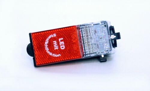 LED Rücklicht KB FL04 auf Schutzblech mit Standlichtfunktion StVZO //// 5 stück