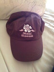 e842939ea Details about Sansegal Maui Hawaii Brown Hat Cap