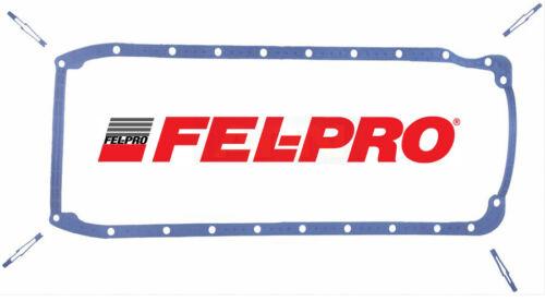 FEL PRO Neoprene Oil Pan Gasket OS30061T for Chevy BB 396 402 427 454 2PC Rear