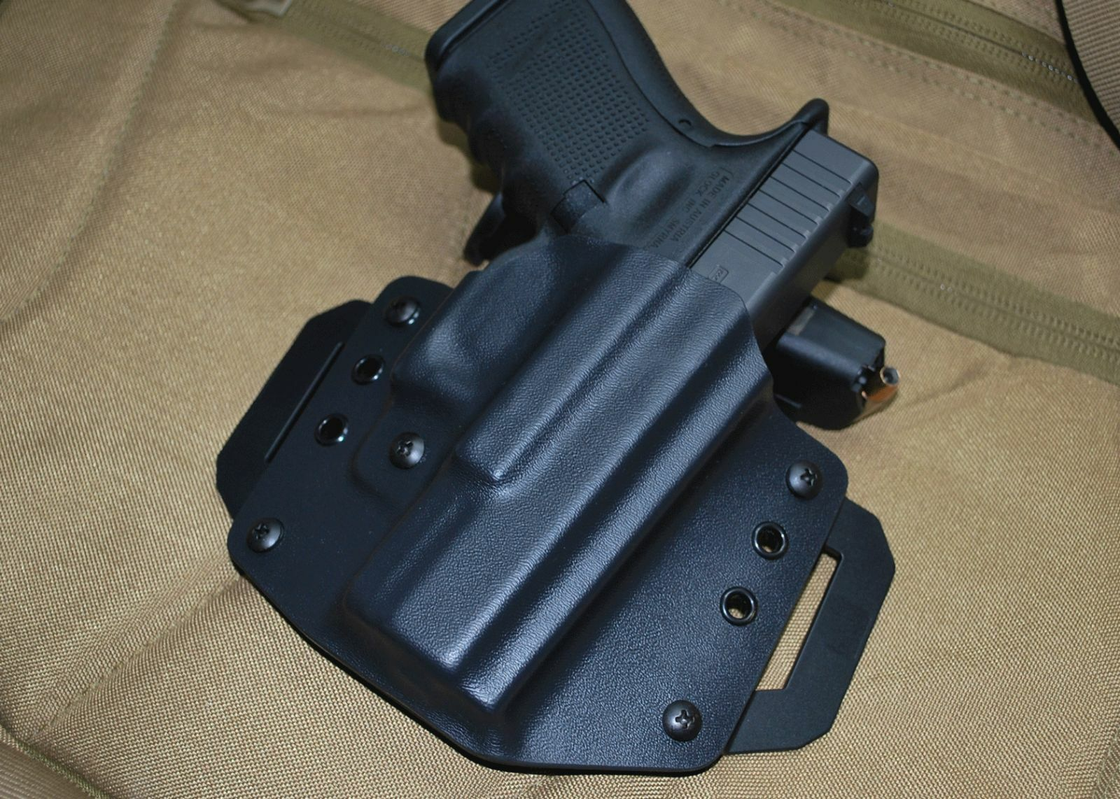 The Curve OWB Kydex Holster for SCCY 9mm pistol by 1441 Gear