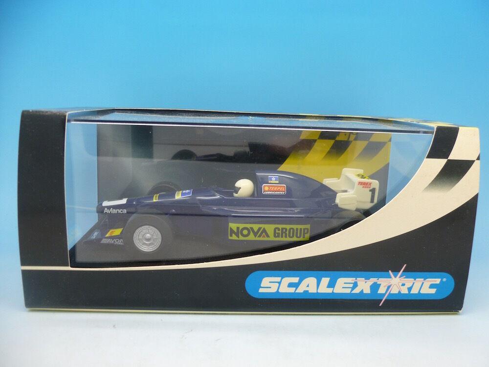 Scalextric C2459 Nova Group F1 bluee No1, unused mint boxed