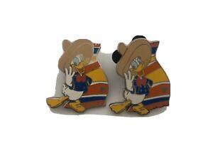 WDW-Cast-Lanyard-Series-3-Three-Caballeros-Donald-Duck-Disney-Pin-VTG