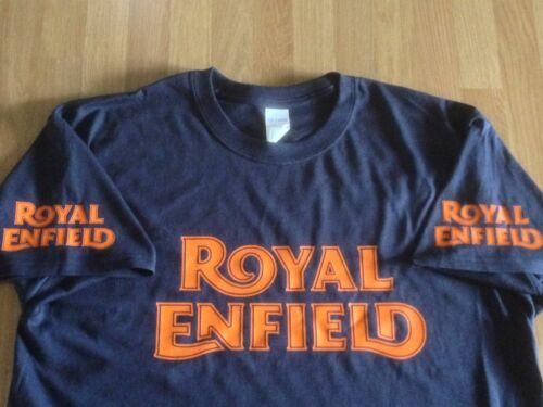 Vintage Logo x 4 print options - Colour T-shirts Royal Enfield Motorcycles