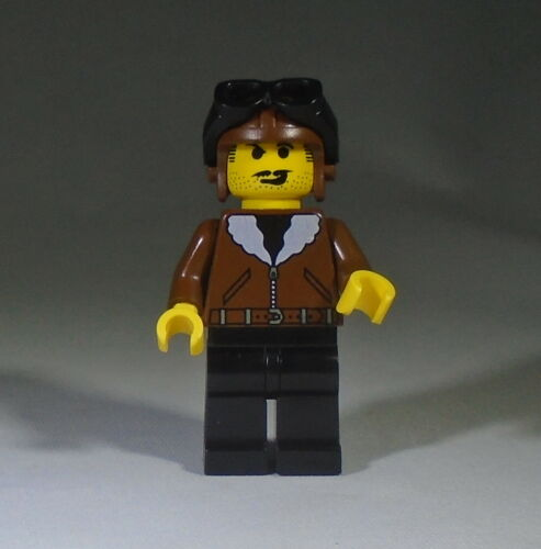 Harry Cane LEGO Desert Adventurers Pilot Minifig
