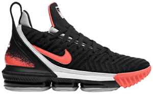 Nib Nike Lebron James 16 Xvi Tech Challenge Hot Lava Black Ci1521 001 Men S 9 5 Ebay