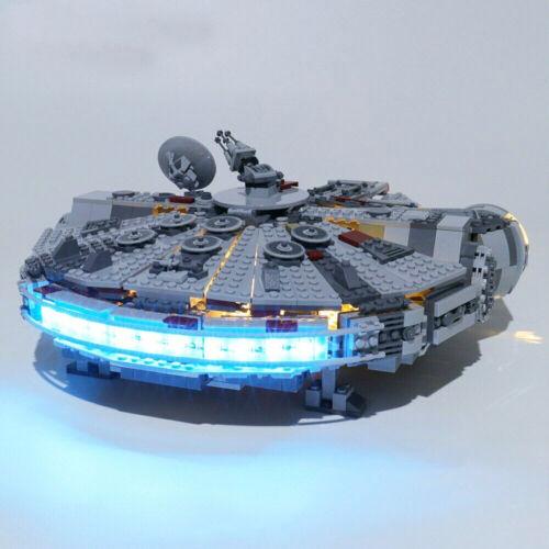 LED lighting kit for Lego Millennium Falcon Star War 75257 Building Block Bricks