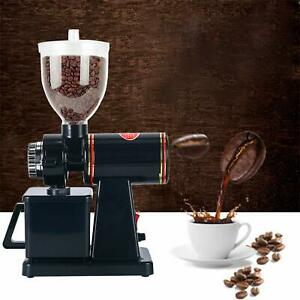 Professional Electric Coffee Grinder Coffee Bean Powder Grinding Machine(Black)