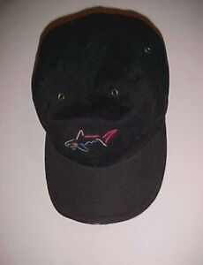0e6df92ad0d Image is loading Greg-Norman-Collection-Adult-Unisex-Black-The-Shark-