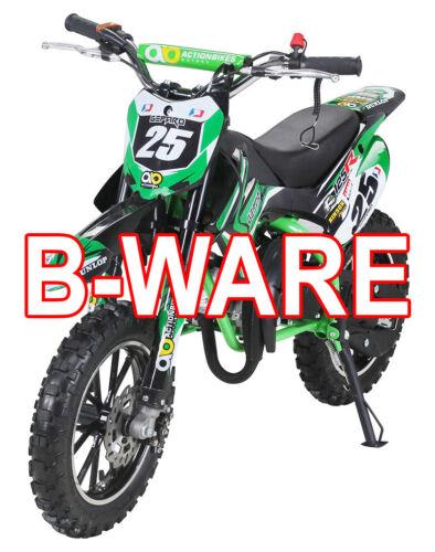 B-Ware Kinder Mini Enduro Crossbike Gepard 49cc 2 takt Motorcrossbike Gebraucht