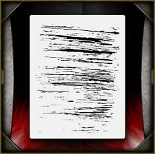 """Grunge 3"" Airbrush Stencil Template Airsick"