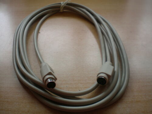 Teclado Extension Cable 3M 6way Mini Din Macho a Hembra manera 3073-3 Z585