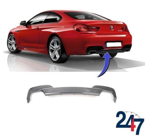 Arrière M Sport diffuseur avec 2 Muffler ports Compatibles avec BMW 6 F12 F13 F06-17