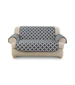 Fantastic Details About Belle Maison Usa Ltd Peyton Reversible Loveseat Slipcover 70 5 X 88 1 Piece Ocoug Best Dining Table And Chair Ideas Images Ocougorg