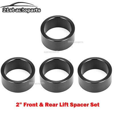"Yamaha Grizzly Series 350 400 450 550 700  ATV 2/"" Lift Spacer Kit BLACK"
