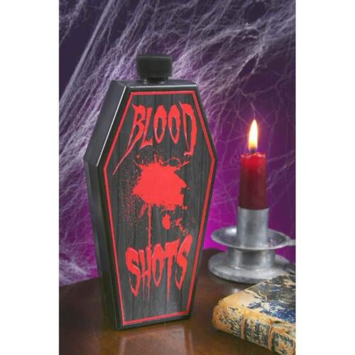 One-Size 6.5 in x 3 in Vampire /'Blood Shots/' Flask Adult