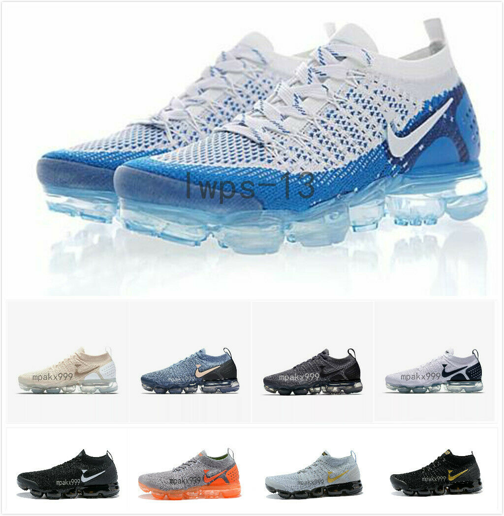 Men's Vapormax 2.0 Air Casual Sneakers Running Sports Designer Trainer Shoes New