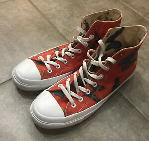 a65748cc7cd8cb RARE Converse x Damien Hirst All Star Chuck Taylor Product-Red ...