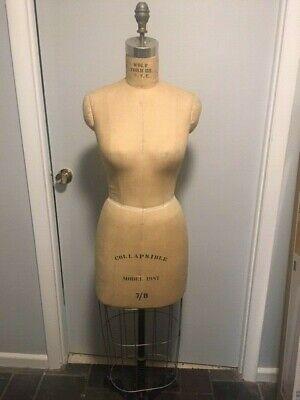 Antique Mannequin Caged Dress Form,Display