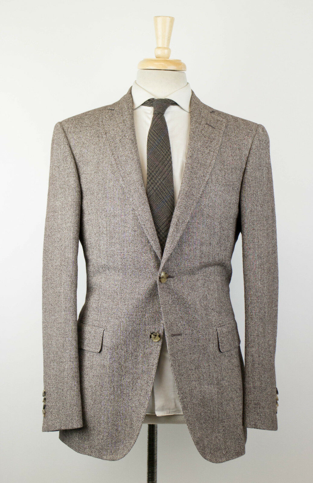 New PAL ZILERI MAINLINE Braun Wool 2 Button Sport Coat Größe 48/38 R Drop 7 1495