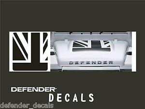 Land Rover Defender 90 110 Aftermarket Decal Bonnet