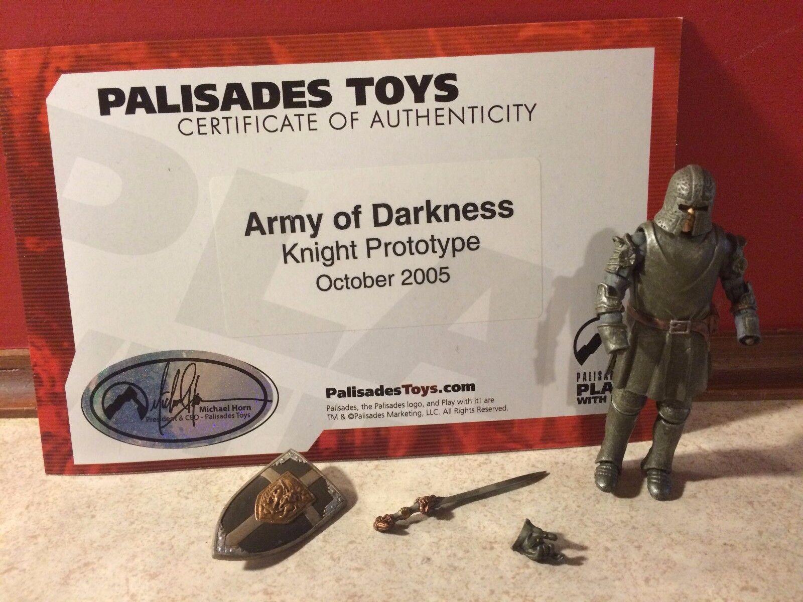 Projootipo de prueba de disparo Palisades Army Of Darkness Knight Infantería C   coa típico 190