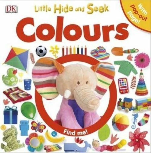 Little Hide and Seek Colours-ExLibrary