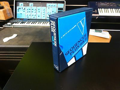 Voyetra Sequencer Plus Mk Ii Software 33-track Midi Recorder For Ibm/pc Nos Software, Loops & Samples
