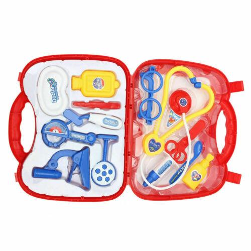 Children Kids Role Play Doctor Nurse Learning Toys Set Medical Kit Xmas Gift UK