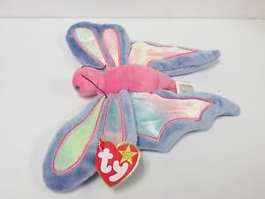 Mint~ Ty Beanie Baby Babies ~ FLITTER the BUTTERFLY ~1999~ MWMTs ~Plush~ Retired