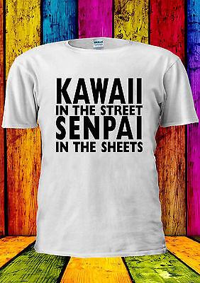 Kawaii In The Street Senpai On The T-shirt Vest Tank Top Men Women Unisex 1163