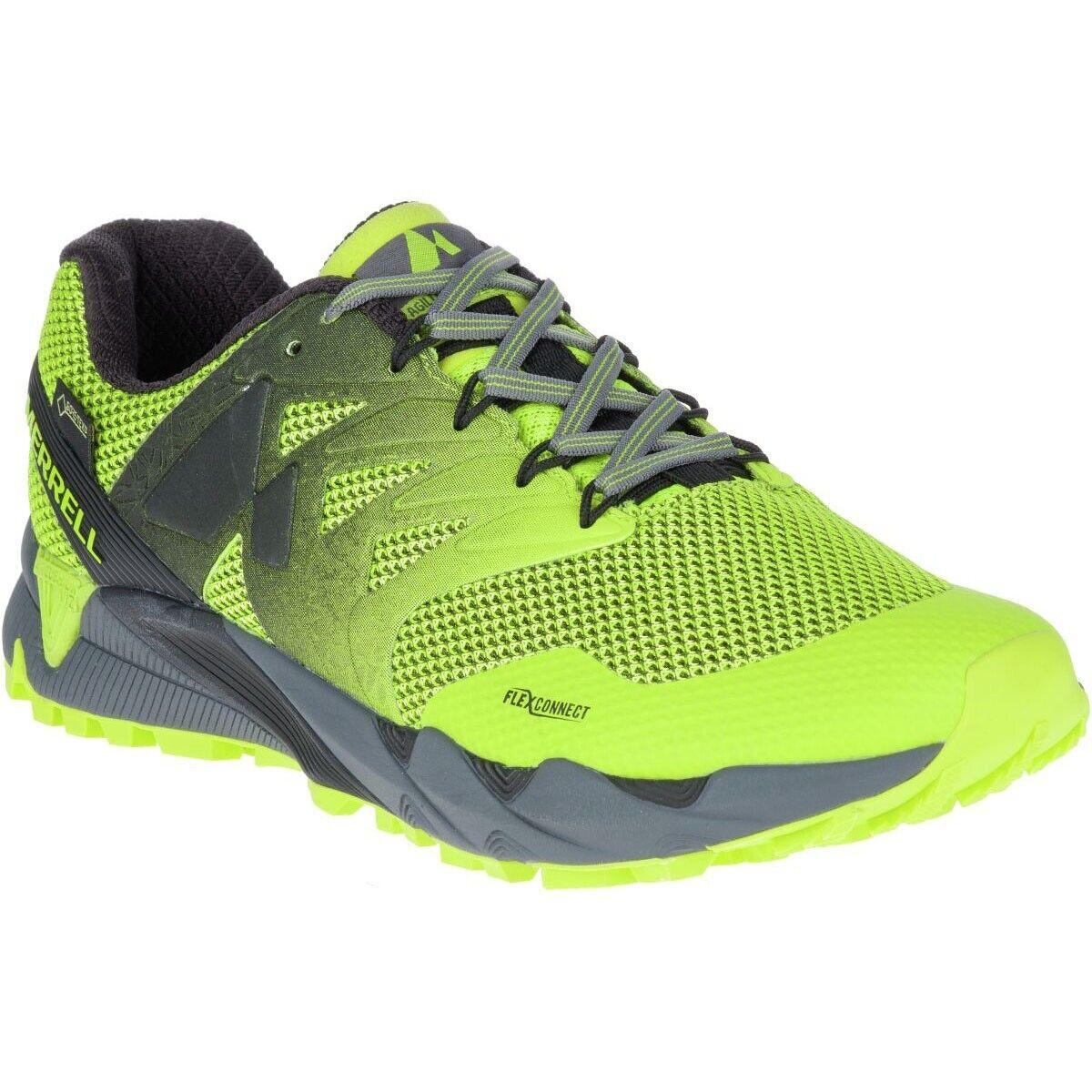 Merrell agility Peak Flex 2 GTX zapatillas amarillo