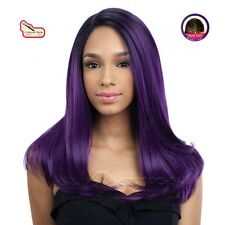 Equal Synthetic Invisible Lace Front L Part Wig Justice