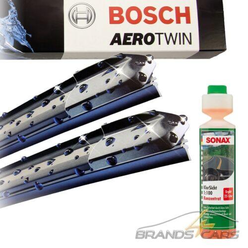 BOSCH AEROTWIN A933S SCHEIBENWISCHER+SONAX KLAR-SICHT REINIGER FÜR AUDI A4 8E B6