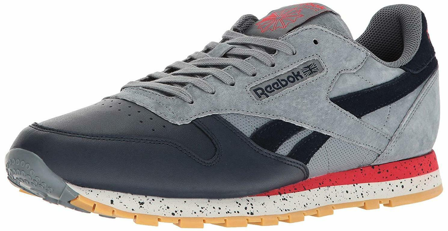 Reebok Men's CL Leather SM Fashion Sneaker - Choose SZ color