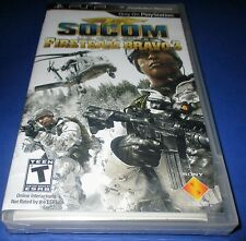 Socom U.S. Navy Seals Fireteam Bravo 3 Sony PSP Factory Sealed! Free Shipping!