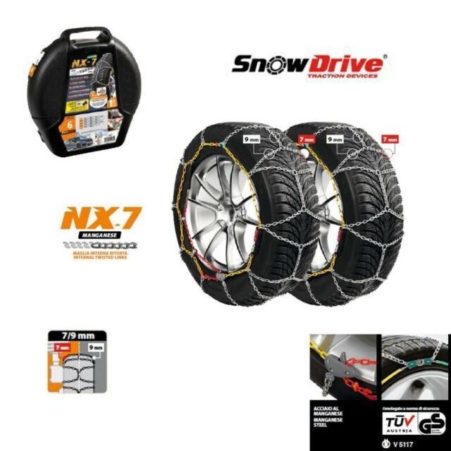 Lampa 15982 Catene da neve 7-9 mm Mazda 2 con pneumatici 185/65/15