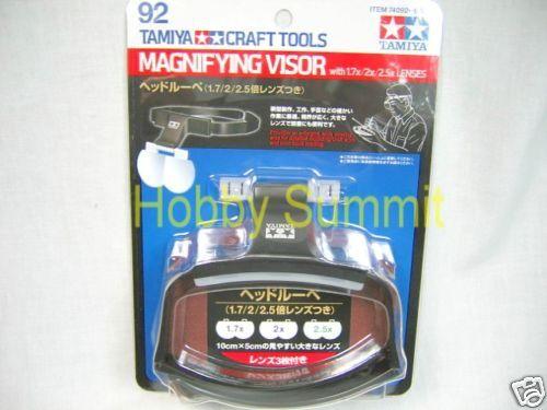 godendo i tuoi acquisti 74092 Tamiya    MAGNIFYING VISOR 1.7X 2X 2.5X Lens Craft strumentos 1 48 1 24 1 700 350  ottima selezione e consegna rapida