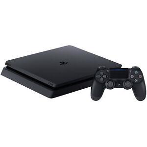 Sony-PLAYSTATION-4-ps4-Slim-console-500gb-nero-e-chassis-completamente-nuovo-OVP