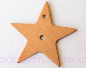 DICKY-BIRD-TOYS-LEATHER-STAR-TOY-BASE-FREE-POSTAGE-ORDERS-50